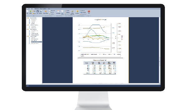 Ship stability software longitudinal strength report